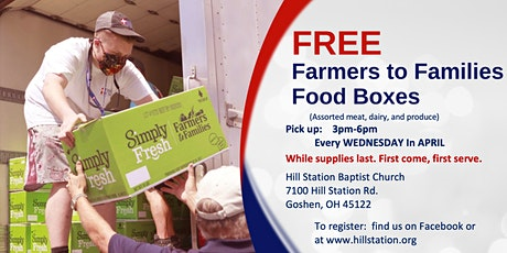 Farmers to Families Food Box Giveaway tickets