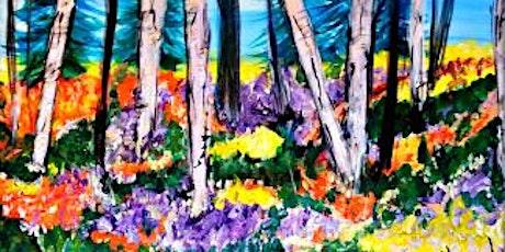 IN STUDIO CLASS Colorado Wildflowers Fri June 4th 6:30pm $35 tickets