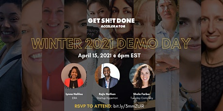 Demo Day: Get Sh!t Done Accelerator (Winter 2021) tickets