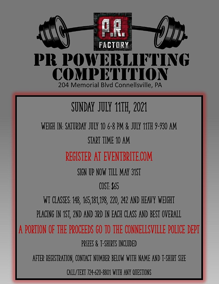 PR Factory Powerlifting Competition image