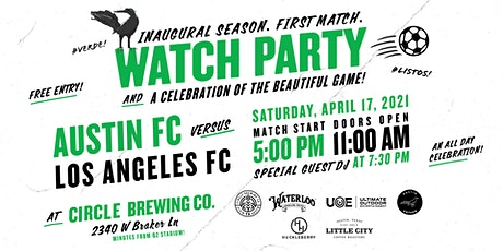 Austin FC Inaugural Match Watch Party + A Celebration of the Beautiful Game tickets