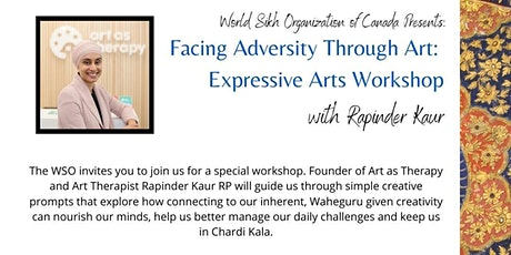 Facing Adversity Through Art: An Expressive Arts Workshop tickets