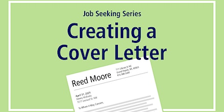 Job Seeking Series: Creating a Cover Letter tickets