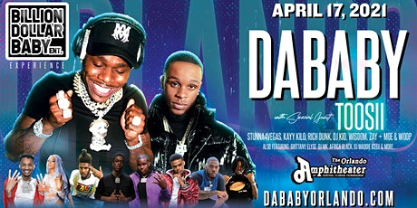 DaBaby, Toosii, & the Billion Dollar Baby Experience (LIVE) Orlando entradas