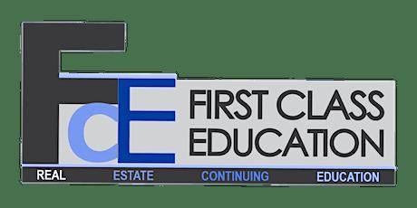 Commercial Real Estate Due Diligence - Free Online CE Course biljetter