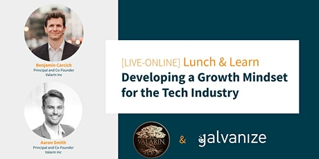 Developing  a Growth Mindset for the Tech Industry [LIVE-ONLINE] tickets