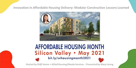 Innovation in Affordable Housing Delivery - Modular Construction tickets