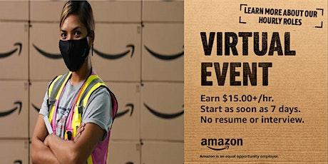 Amazon-Virtual Info Session DYO1- Apr 21st-Read Full Description Below tickets