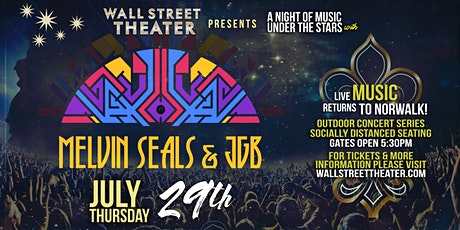 Melvin Seals and JGB at the Wall Street Theater Outdoor Concert Series tickets