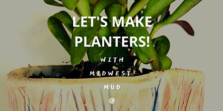 Let's make planter!! April 28th @ Thunder Coffee tickets