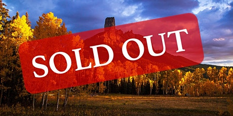 SOLD OUT 2021 Colorado Fall Colors Segment 1 Workshop tickets