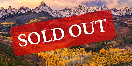 SOLD OUT 2021 Colorado Fall Colors Segment 2 Workshop tickets
