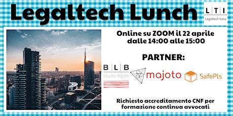 Legaltech Lunch biglietti