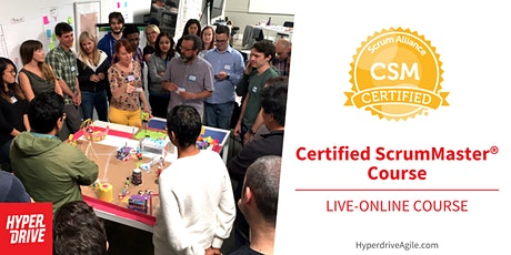 Certified ScrumMaster® (CSM) Live-Online Course (Pacific Time) ingressos