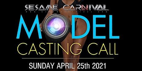 Sesame Carnival Model Casting tickets