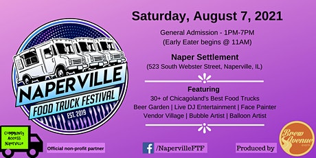 Naperville Food Truck Festival tickets