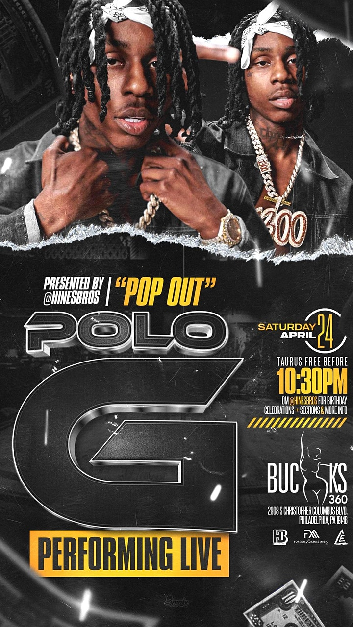 POLO-G  LIVE IN PHILLY image