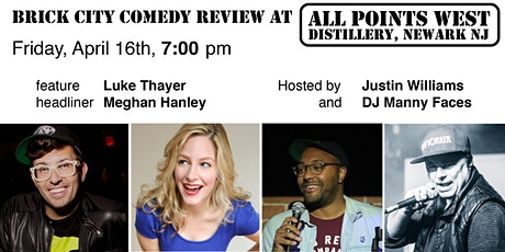 Brick City Comedy Review at All Points West Distillery, Friday April 16th tickets