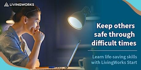 LivingWorks Start - Online Suicide Prevention Training tickets
