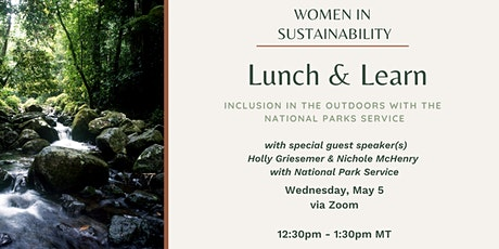 Women in Sustainability - Inclusion in the Outdoors tickets