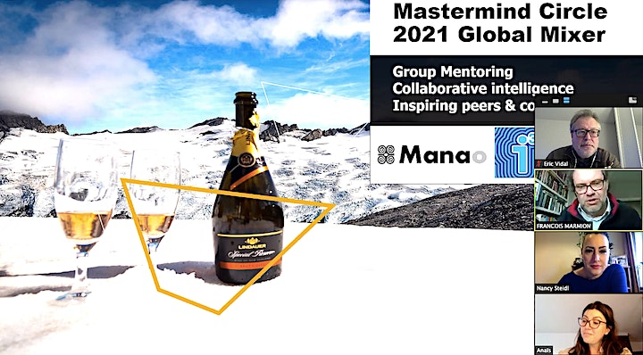GLOBAL MASTERMIND MIXER - Project Yourself Into The Future + Network! image