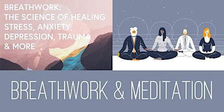 Online Breathwork & Meditation Session tickets