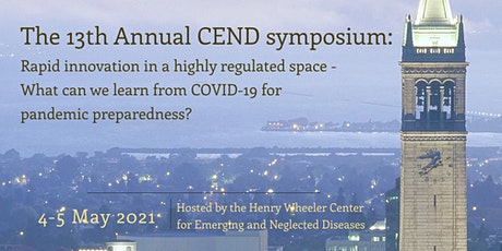 13th Annual Center for Emerging & Neglected Diseases (CEND) Symposium tickets