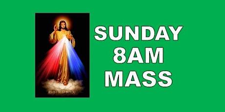 DIVINE MERCY WEEKEND, SUNDAY 8AM HOLY MASS tickets
