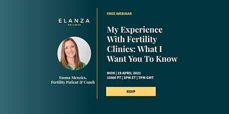 My Experience With Fertility Clinics: What I Want You To Know tickets