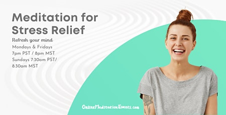 Meditation for Stress Relief tickets