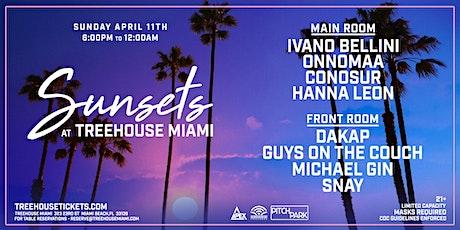 Sunday Sunsets @ Treehouse Miami tickets