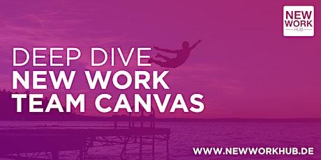 DEEP DIVE #2 New Work Team Canvas Tickets