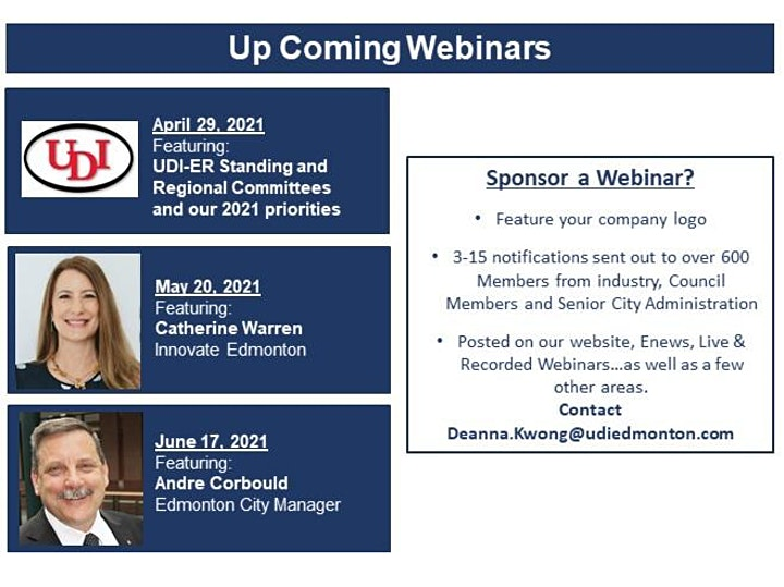 UDI-ER Webinar -Catherine Rothrock, Alberta Treasury Board and Finance image