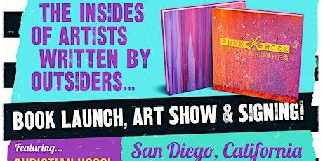PUNK ROCK & PAINTBRUSHES BOOK SIGNING & ART EXHIBIT! tickets
