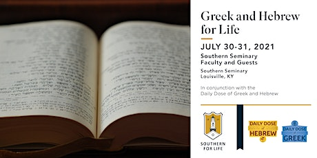 Alumni Academy: Greek & Hebrew for Life Conference tickets