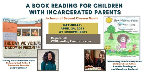 Book Reading for Children With Incarcerated Parents tickets