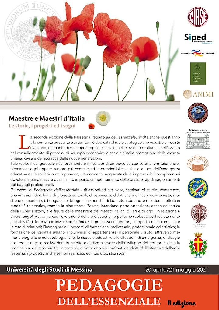Immagine Pedagogie dell'Essenziale - Apertura dei lavori e seminario Marco Dallari