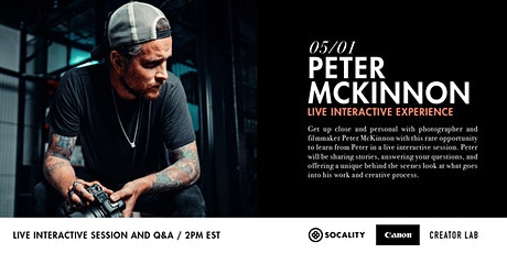 Peter McKinnon: a Live Interactive Experience tickets