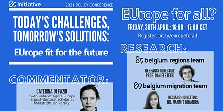 EUrope fit for the future - Panel: EUrope for All? tickets
