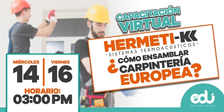 ¿Cómo ensamblar carpintería europea Hermeti-k? entradas