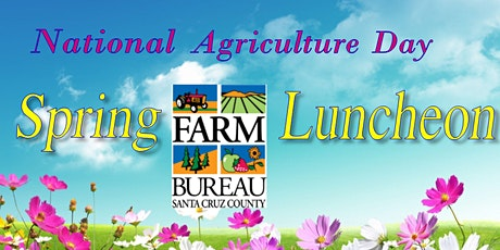 National Agriculture Day Spring Luncheon tickets