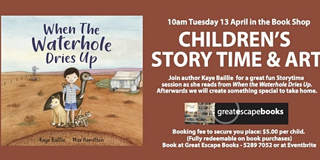 Children's Story Time and Art with Kaye Baillie tickets