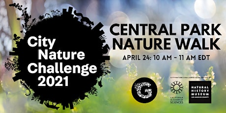 City Nature Challenge 2021: Central Park Nature Walk tickets