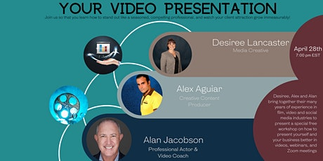 Master  Your Video Presentation tickets
