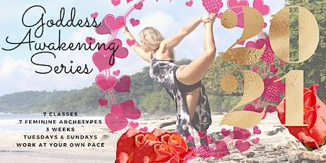 Online Divine Goddess Yoga Flow Series 2021 tickets