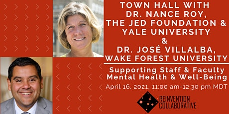 Town Hall on Supporting Staff & Faculty Mental Health & Well-Being tickets