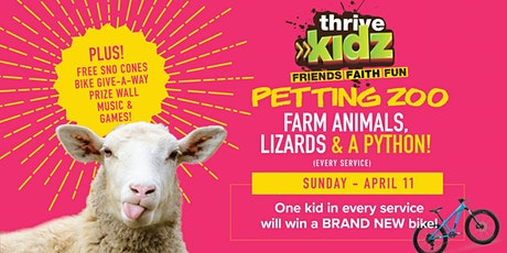 April 2021 Thrive Kidz Experience (for Crawlers thru 5th Grade) tickets