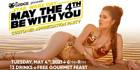 May The 4th Be With You: Star Wars Party at The Lodge tickets