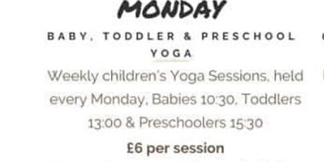 Plodder Pals Baby Yoga Sessions 2021 tickets