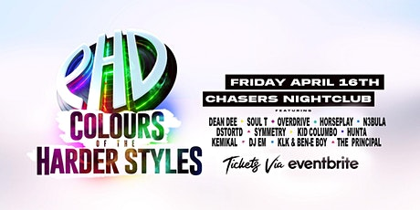 PHD  Pres. THE COLOURS of the HARDER STYLES tickets